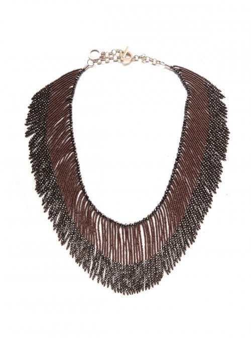 Gilda Beaded Necklace