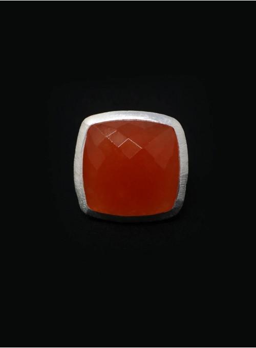 Azai Carnelian Ring