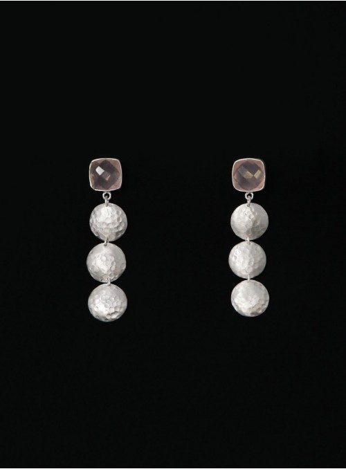 Azai Rose Quartz Earrings