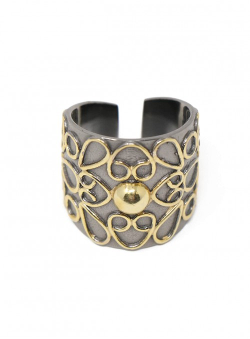 Azai Black Plating Ring