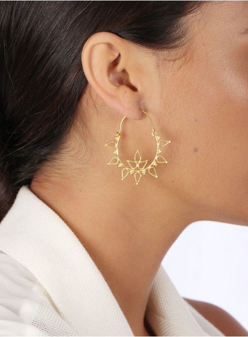 Azai Hoop Earrings