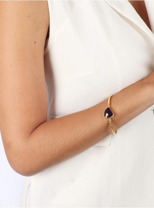 Azai Amethyst Stone Bracelet