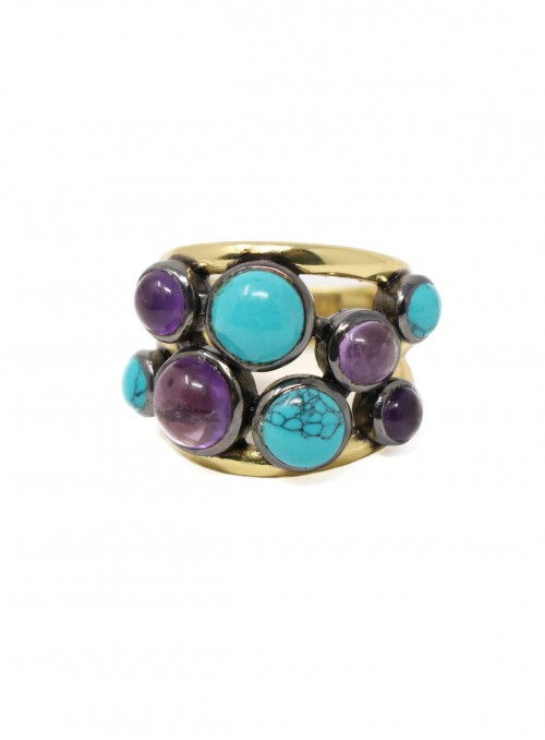 Azai Turquoise and Amethyst...