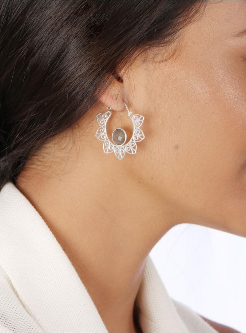 Azai Labradorite Earrings