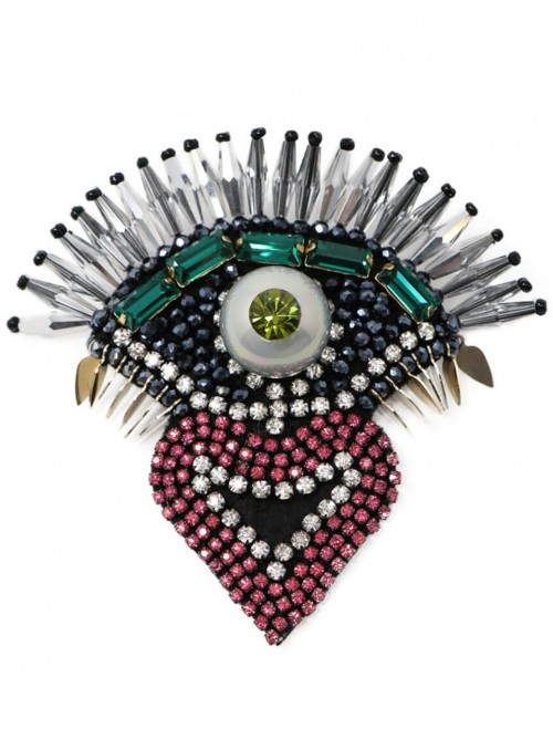 Nazar Beaded Brooch