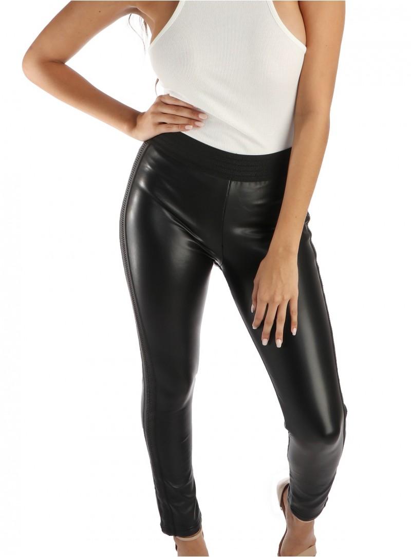 Alex Vegan Leather Pants
