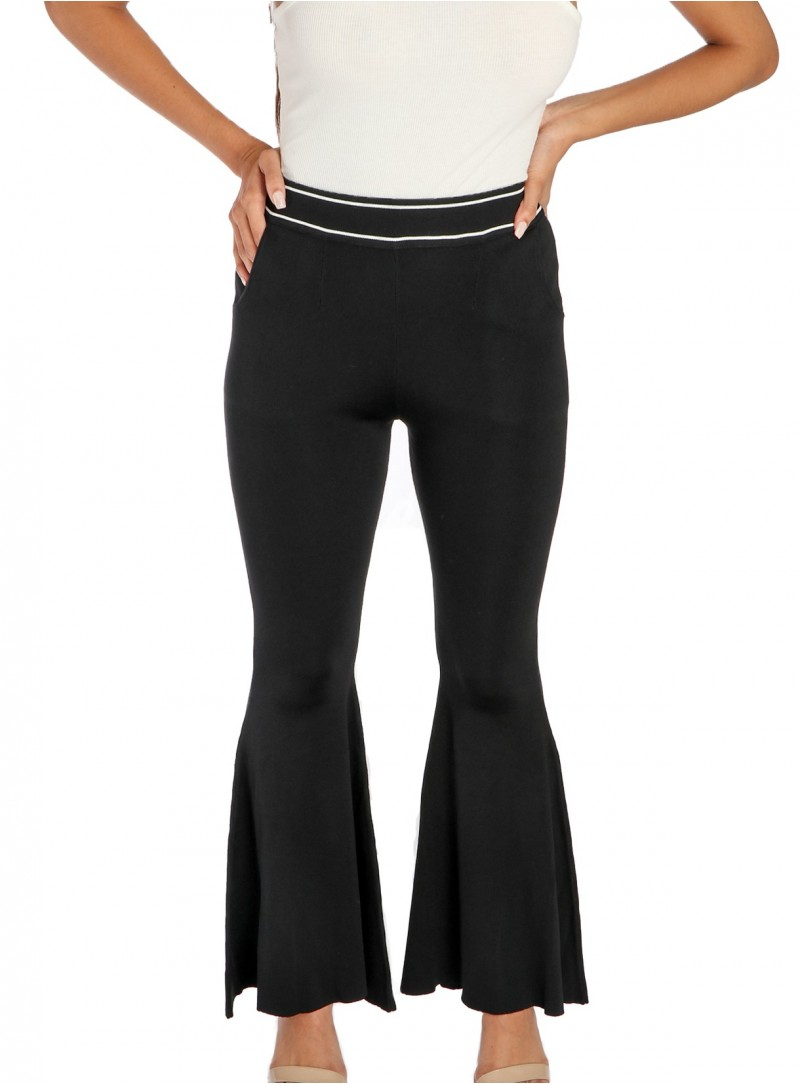 Christian High-Rise Flare Pants