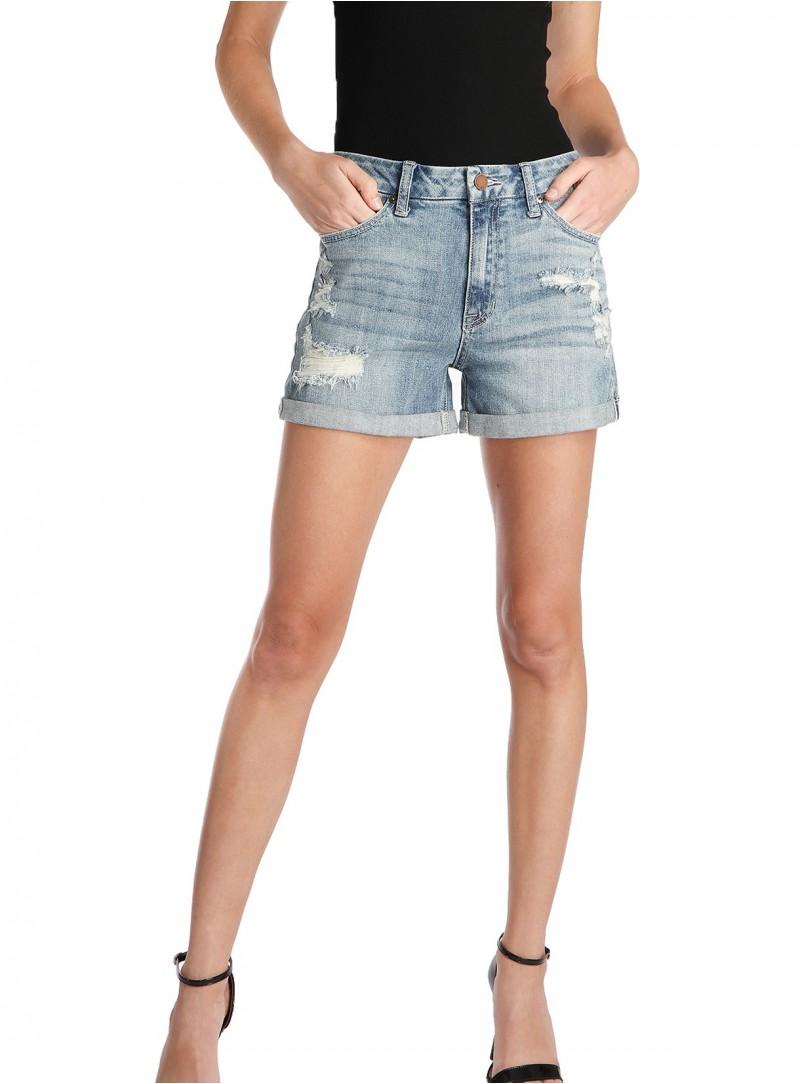 Baiji Cut Off Denim Shorts
