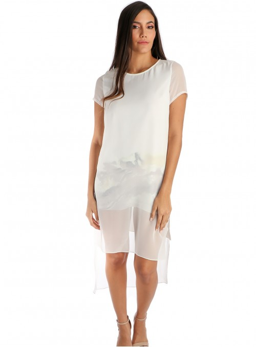 Pittura White Dress