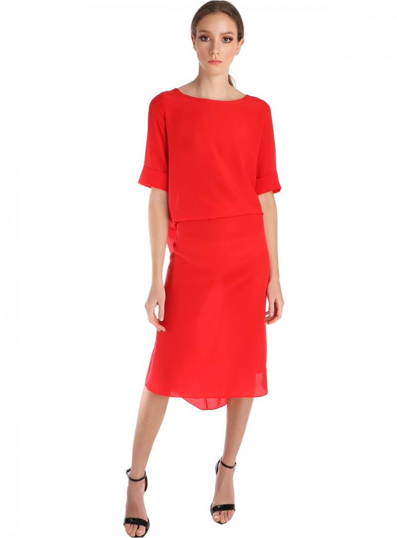 Perry Convertible Dress Lapis