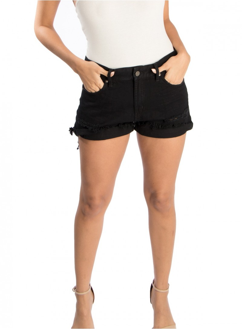 Baiji Cut Off Denim Shorts