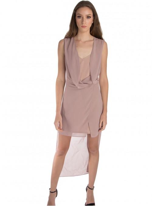 Erika Sheer Dress