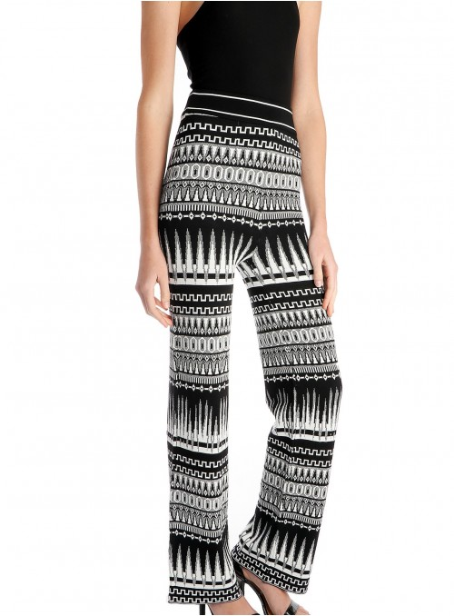 Aubin Tribal Print Knit Pants