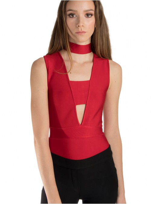 Maxwell Banded Bodysuit