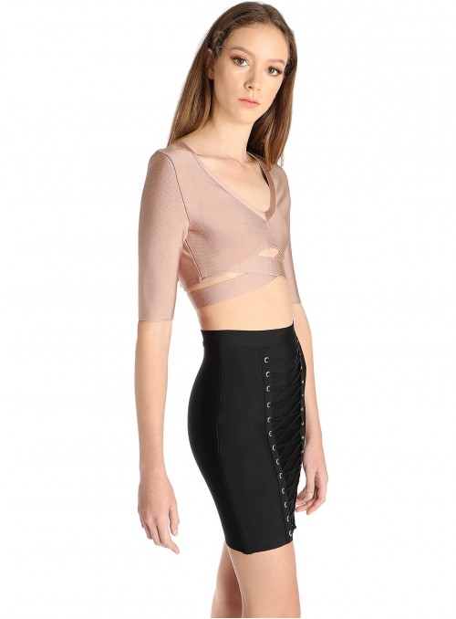 Robyn Banded Crop Top