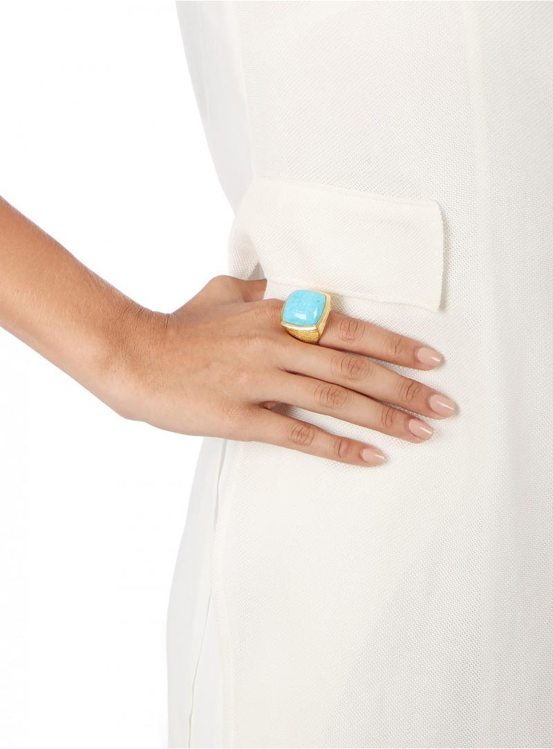 Azai Sleeping Beauty Turquoise Ring