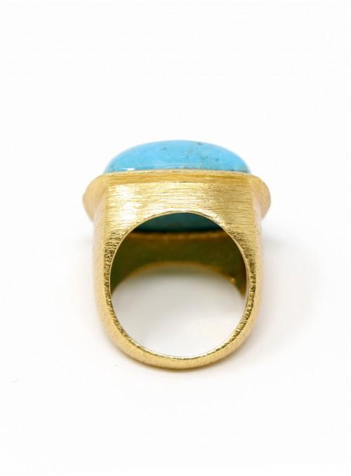 Azai Sleeping Beauty Turquoise Ring