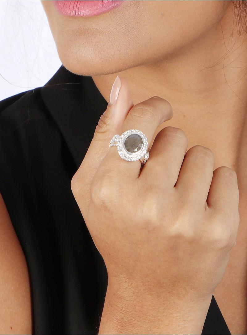 Azai Labradorite Ring