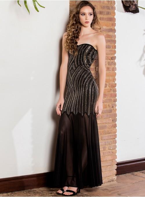 Orlena Beaded  Dress
