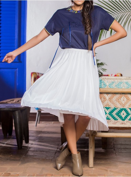 Eloise Pleated Skirt