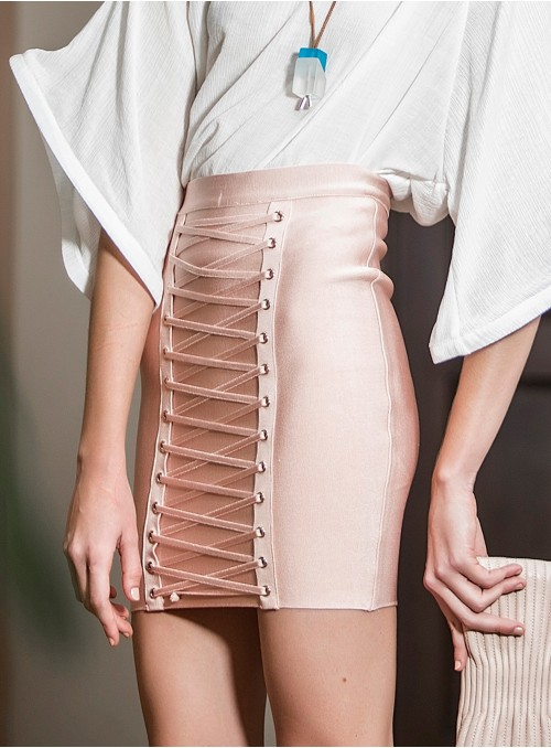 Poppy Banded Skirt