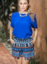 KF117 - Shorts - Dark Blue-L-Print