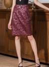 KF355 - Skirts - Wine-L-Solid