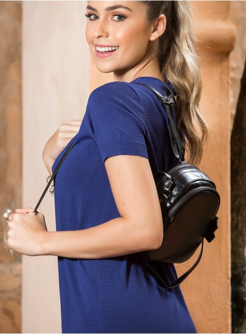 BackPack Purse Silver