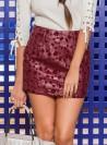 KF048 - Skirts - Wine-S-Solid