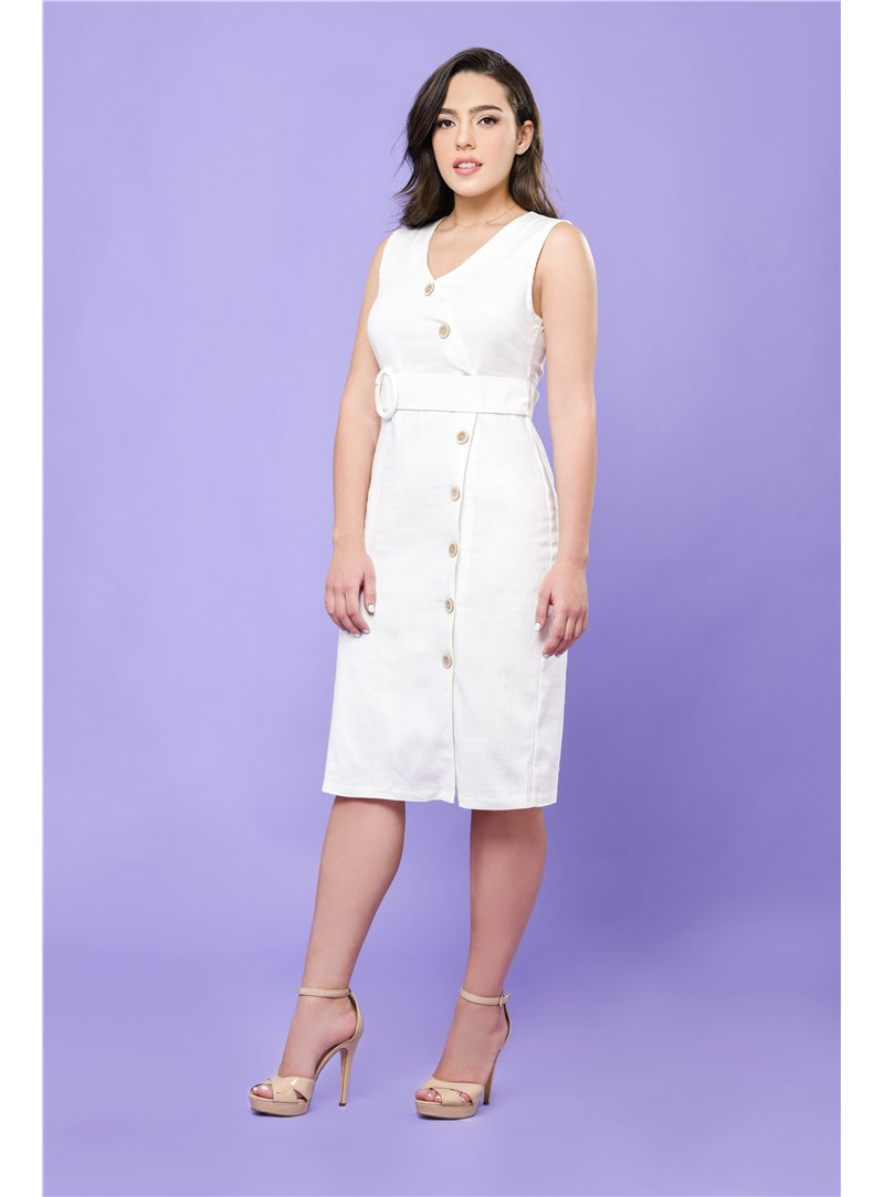 Lila Belt Dress